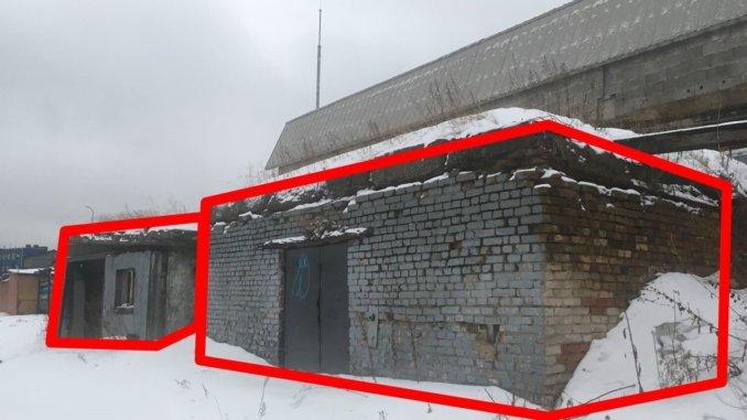 незаконные заброшенные строения