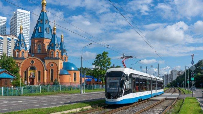день рождения московского трамвая