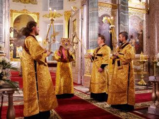пение на литургии