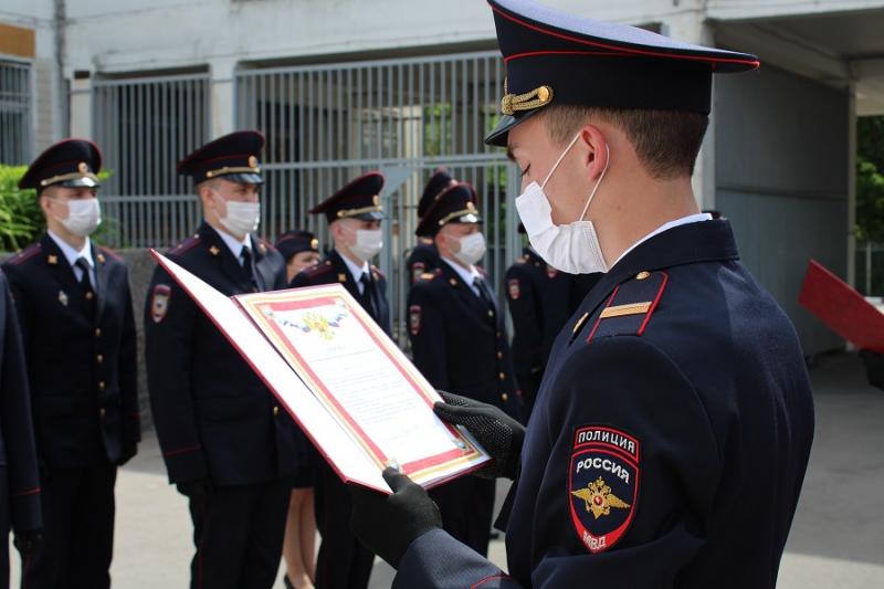 молодые правоохранители