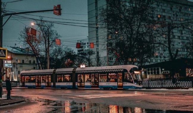 трамвай 43