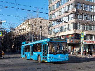 автобусы трёх маршрутов